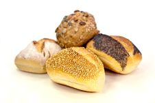 Free Many Buns With Sesame Seeds , Macro Shot Royalty Free Stock Image - 9347906