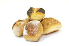 Free Many Buns With Sesame Seeds , Macro Shot Stock Photos - 9347953