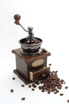 Free Coffee Grinder Stock Photography - 9348212
