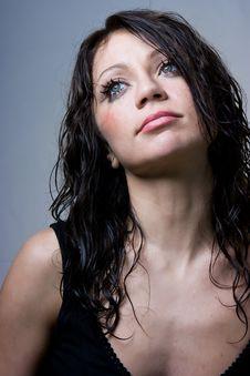 Free Glamour Model Stock Image - 9348251