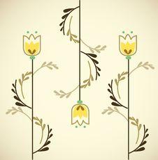 Free Swirl Tulip Stock Images - 9348264