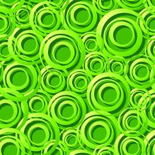 Free Seamless Green Ring Pattern Stock Photos - 9348753