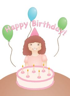 Free Happy Birthday Royalty Free Stock Photography - 9349157