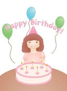 Free Happy Birthday Royalty Free Stock Photography - 9349157