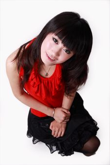 Free Asian Girl Royalty Free Stock Photos - 9349168