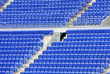 Free Empty Seats In Stadium Royalty Free Stock Images - 9349279