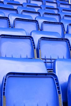 Free Empty Seats In Stadium Stock Photo - 9349480