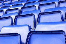 Free Empty Seats In Stadium Stock Images - 9349554