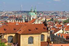 Free Bird S Eye Vies To Prague Royalty Free Stock Image - 9349906