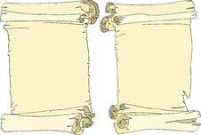 Free Scroll Stock Image - 9349921