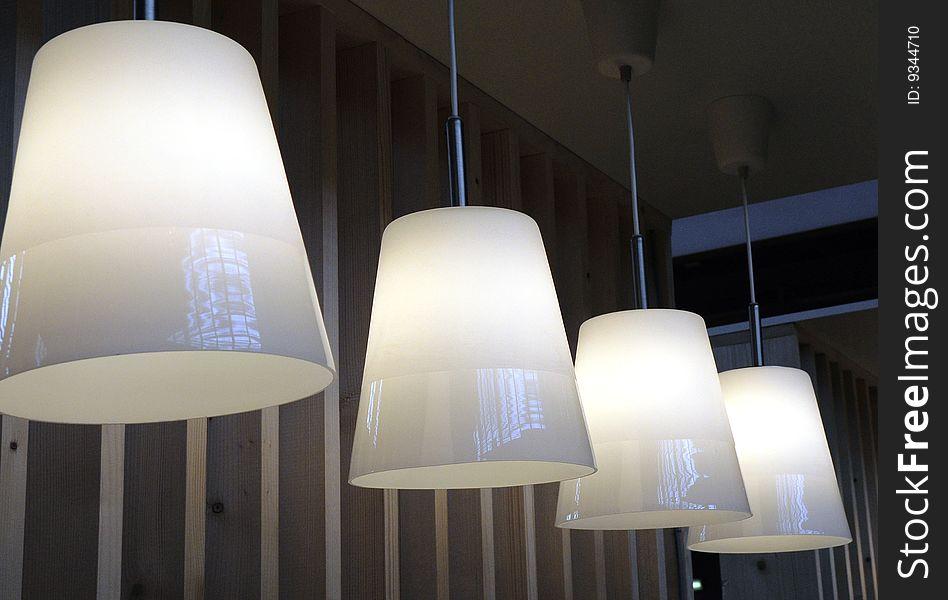 Lamp in array