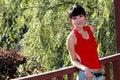 Free Asian Girl Outdoors. Stock Photo - 9350640