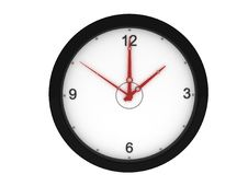 Free Front View Of Wall Clock Royalty Free Stock Photos - 9350098