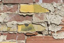 Free Old Brick Wall Stock Photography - 9350362