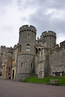 Free Towers In The Windsor Castle Royalty Free Stock Image - 9350566