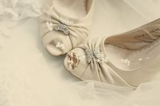 Free Wedding Shoes Stock Photo - 9351040