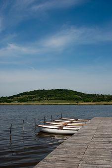 Free Lake Inside In Tihany Royalty Free Stock Photography - 9351327