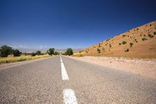 Free Morocco, Road Royalty Free Stock Photo - 9351915