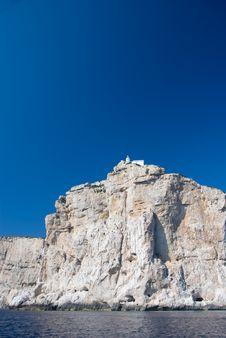 Free Italian Lighthouse In Sardinia Royalty Free Stock Photo - 9352475