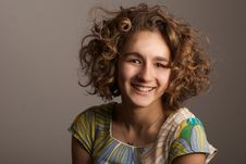Funny Girl Royalty Free Stock Photography