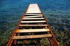 Free Path To The Sea Royalty Free Stock Photos - 9352758