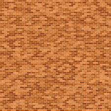 Free Rendered Brick Wall Royalty Free Stock Photo - 9352785