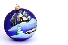 Free Christmas Ball Royalty Free Stock Photo - 9353325