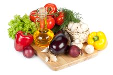 Free Still-life With Fresh Vegetables Royalty Free Stock Photo - 9354345