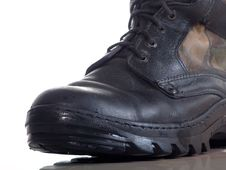 Leather Boot Stock Image