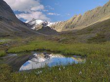 Rocky Mountain Reflection Stock Photography