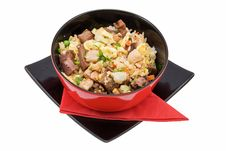 Rice With Meat Royalty Free Stock Photos
