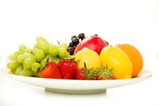 Free Fruit Platter Royalty Free Stock Image - 9355536