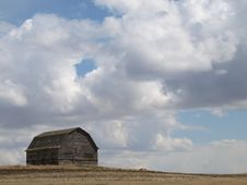 Free Barn Cloudscape. Stock Photo - 9355920