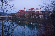 Free Hohes Schloss Castle In Fuessen Stock Photos - 9356293