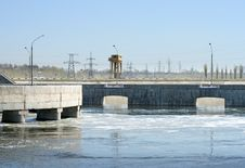 Free Hydroelectric Stations Stock Image - 9356451