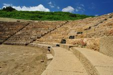 Archaeological Site Of Morgantina Royalty Free Stock Photography