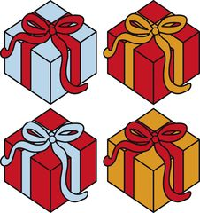 Free Present Boxes Stock Photography - 9357472