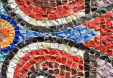 Free Coloured Stone Is In A Pattern Stock Photo - 9358100