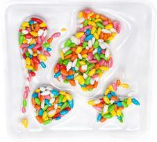 Free Colour Sweetmeats Stock Image - 9358311