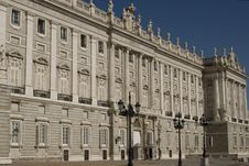 Free Real Palace In Madrid Royalty Free Stock Image - 9358616