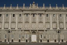 Free Real Palace In Madrid Royalty Free Stock Photography - 9358637