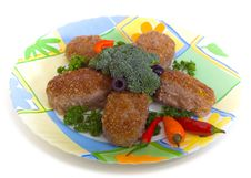 Free Meat Cutlets Stock Images - 9358674
