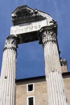 Free Forum Romanum Stock Photography - 9358752
