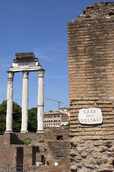 Free Forum Romanum Stock Images - 9358784