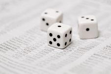 Free Dice Stock Stock Photography - 9358902