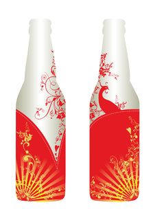 Free Bottle Design & Template Stock Photos - 9358963