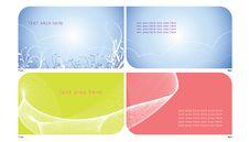 Free Name Card 1-2 Stock Image - 9359291