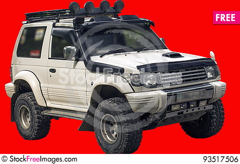 Free A Small Off-road Car. Royalty Free Stock Image - 93517506