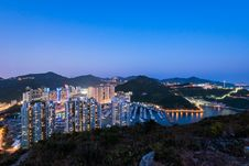 Free Aberdeen Typhoon Shelters View At Yuk Kwai Shan &x28;mount Johnston&x29; Royalty Free Stock Photography - 93551157