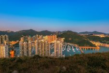 Free Aberdeen Typhoon Shelters View At Yuk Kwai Shan &x28;mount Johnston&x29; Royalty Free Stock Photography - 93551627